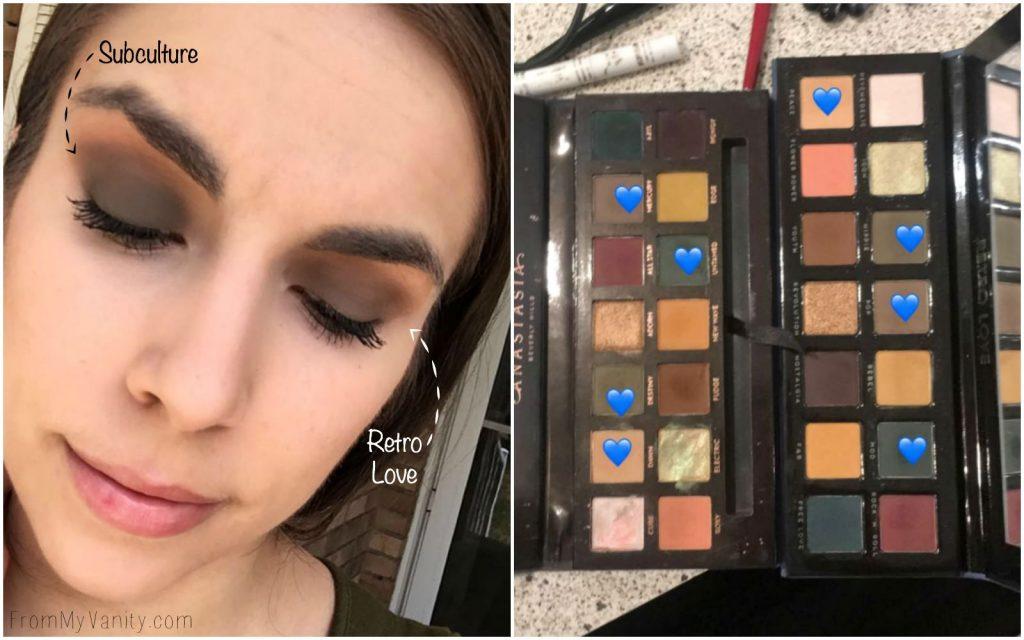 Dupe or Dud | ABH Subculture Palette vs Bad Habit Retro Love Palette | Anastasia Beverly Hills | Shop Hush | Eye Look Comparison