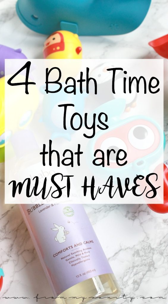 4 MUST HAVE Bath Toys You May Not Know About | Mold Free Bath Toys | Bubble Bath Bombs | Submarine Squirter