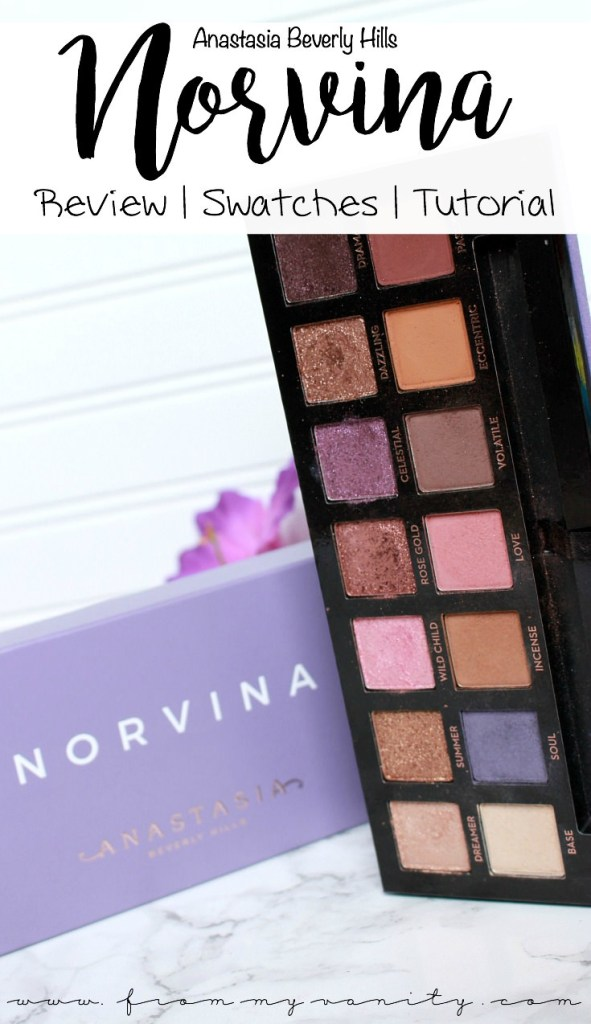 ABH Norvina Palette | Review, Swatches, + Tutorial | Anastasia Beverly Hills Norvina Palette | Eye Swatches | Arm Swatches | Eyeshadow Tutorial | Is It Worth the Hype?
