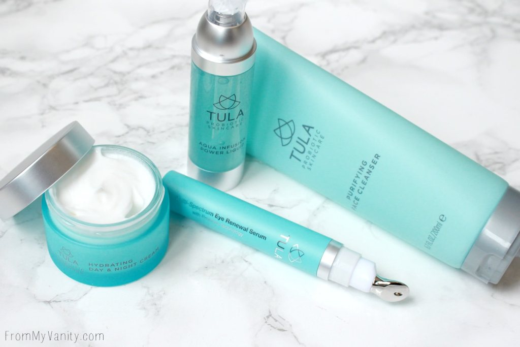 A New TULA Probiotic 4-Piece Skincare Set Available at QVC | TULA by Dr. Raj Antiaging 4-Piece Face & Eye Essentials
