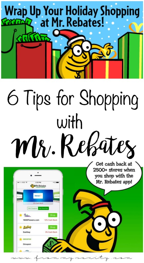 6 Tips to Save Money with Mr. Rebates | Get Cash Back for Online Shopping | Save MORE on your Holiday Shopping | Earn money back just for shopping online! | Tips and Tricks to Using Mr. Rebates