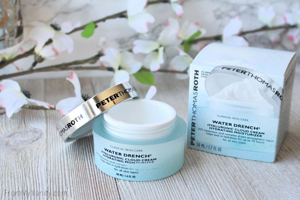 THE BEST MOISTURIZER FOR OILY SKIN! Peter Thomas Roth Water Drench Hyaluronic Cloud Cream