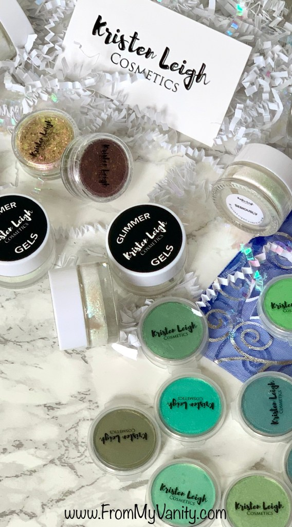 Kristen Leigh Cosmetics Mean Green Collection | Swatches ...