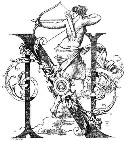 Initial Letter N By Franois Ehrmann