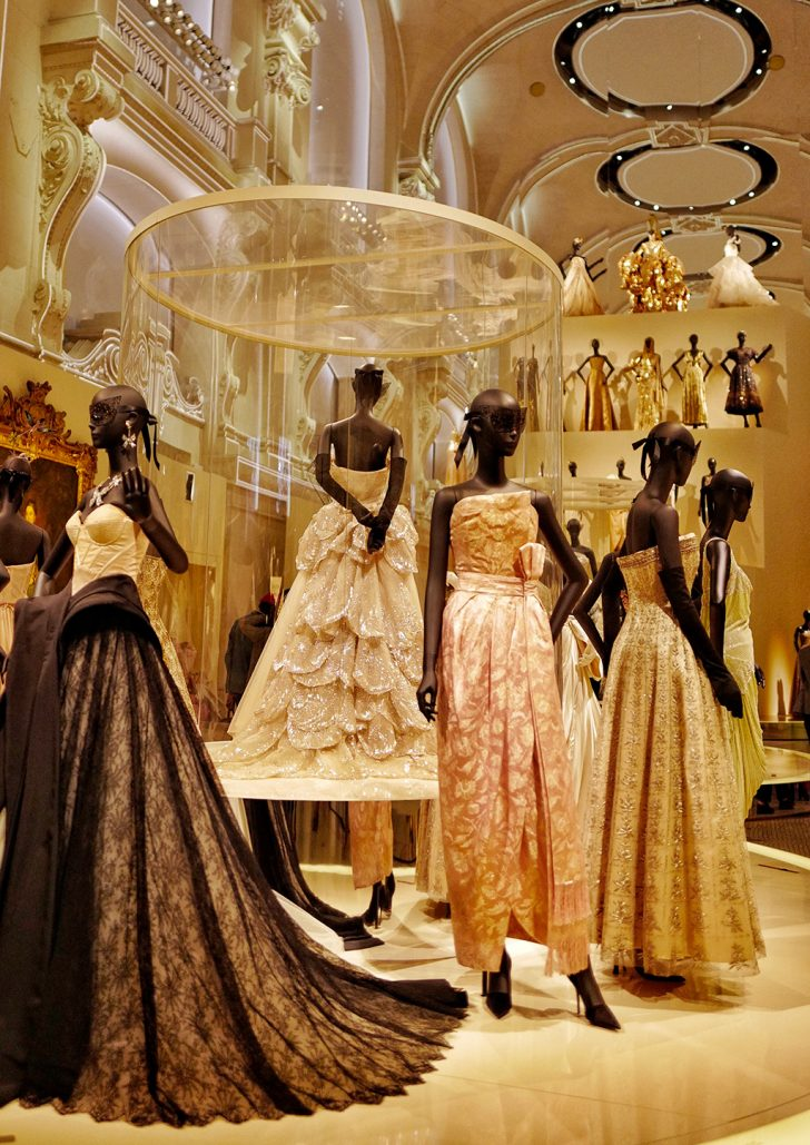 exhibition Christian Dior at the large nave