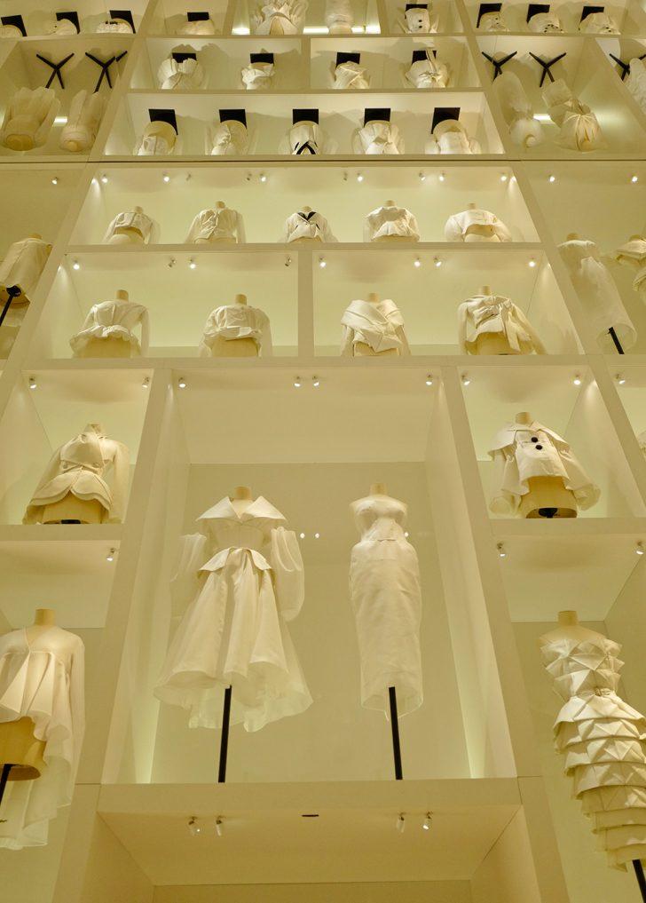 Fashion canvas of Christian Dior