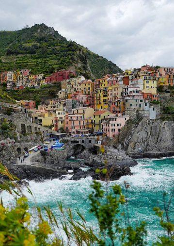 Manarola cinq terre Ligurie Italie