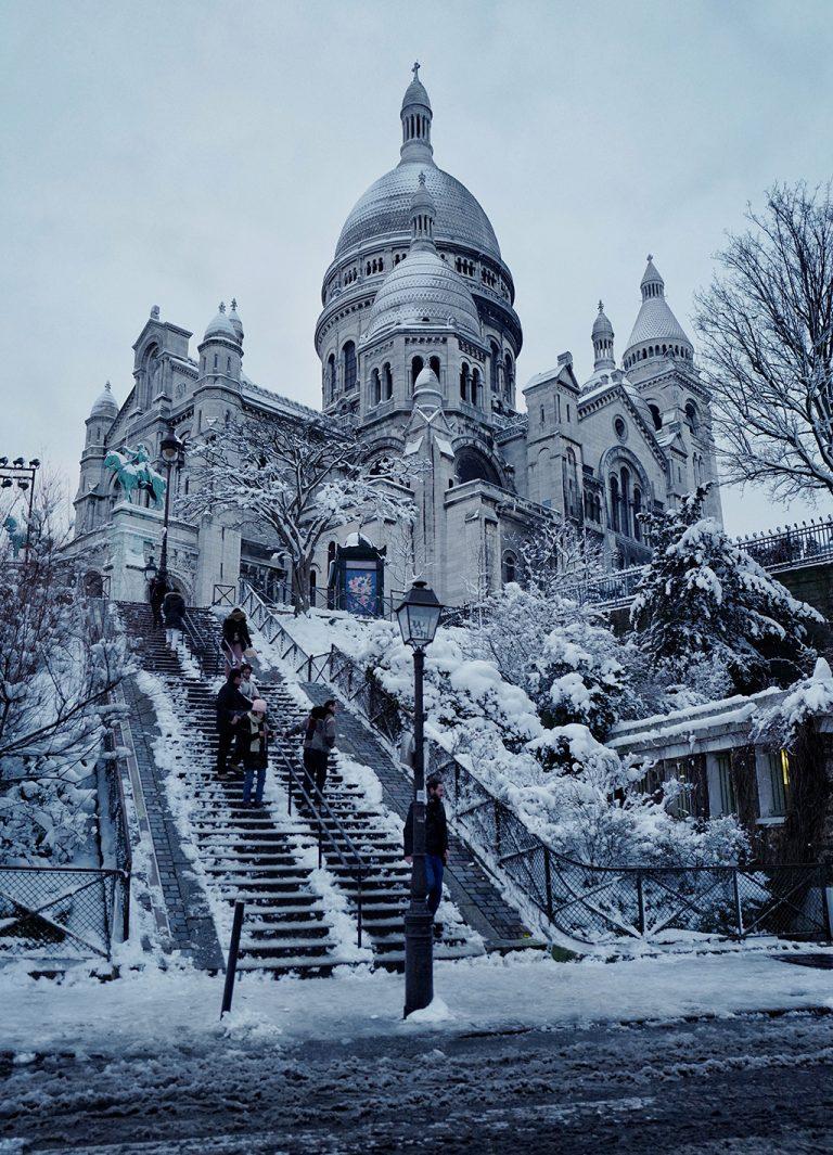 Basilica Sacré Coeur Montmartre Paris