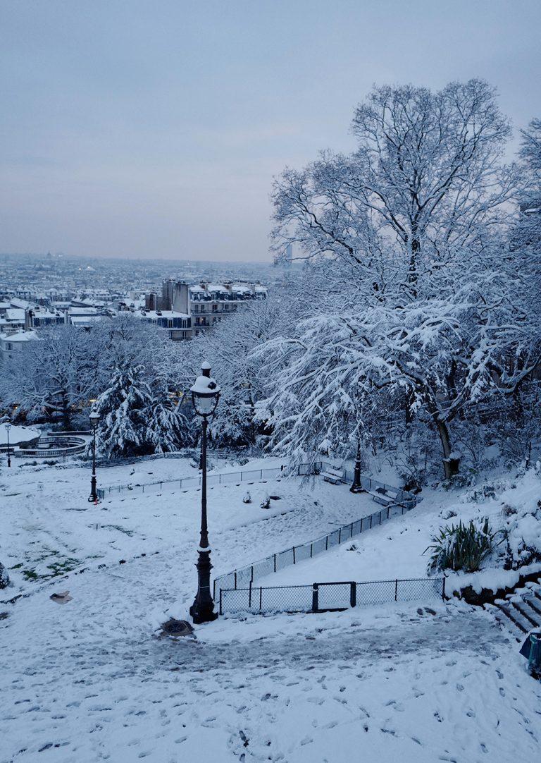 Montmartre Hill Paris