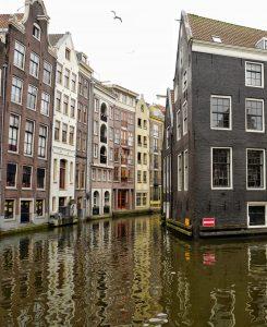 House in red neighboorhood Amsterdam