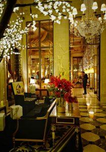 Hall Le Meurice hôtel