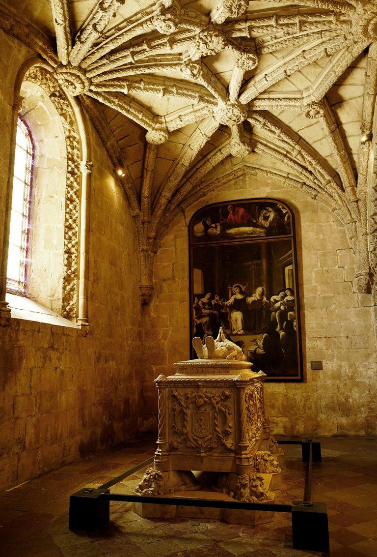 Vasca de Gama tomb Lisbon