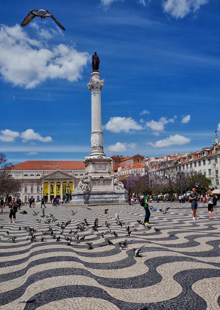 Dom Pedro IV place Lisbon