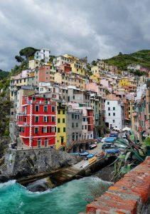 Riomaggiore cinq terres Ligurie Italie