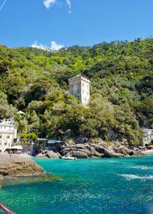 Doria Tower San Fruttuoso Italy