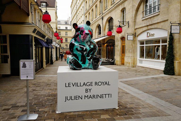 Sculpture Bâ panda by Julien Marinetti