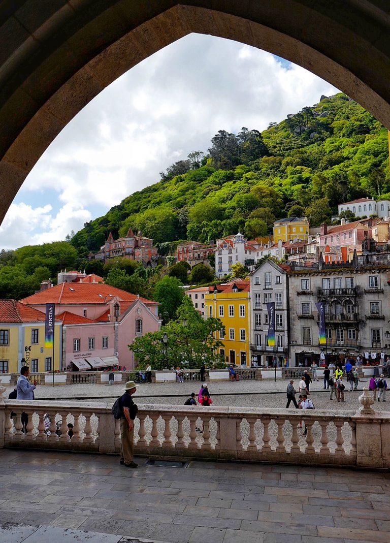 Vue sur la ville de Sintra Portugal