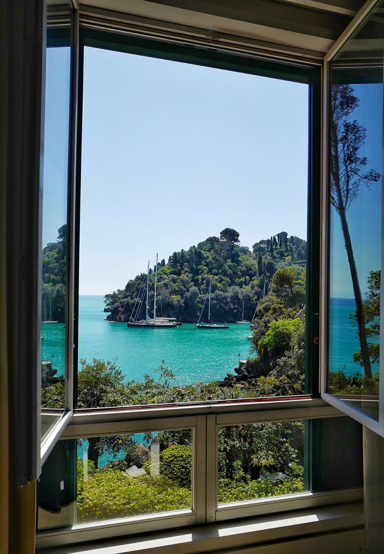 View from Piccolo Hotel Portofino Italy