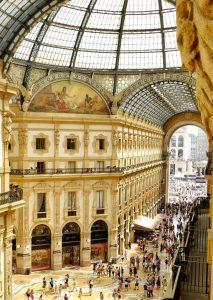 Vue de l'hôtel TownHouse Galleria Milan