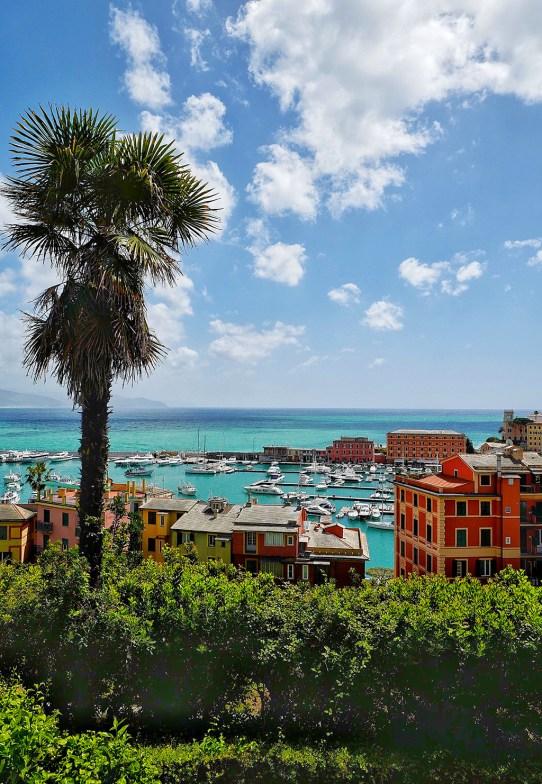 Vue sur le port de Santa Margherita
