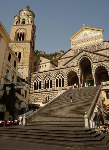 Eglise San Andrea Amalfi, Italie