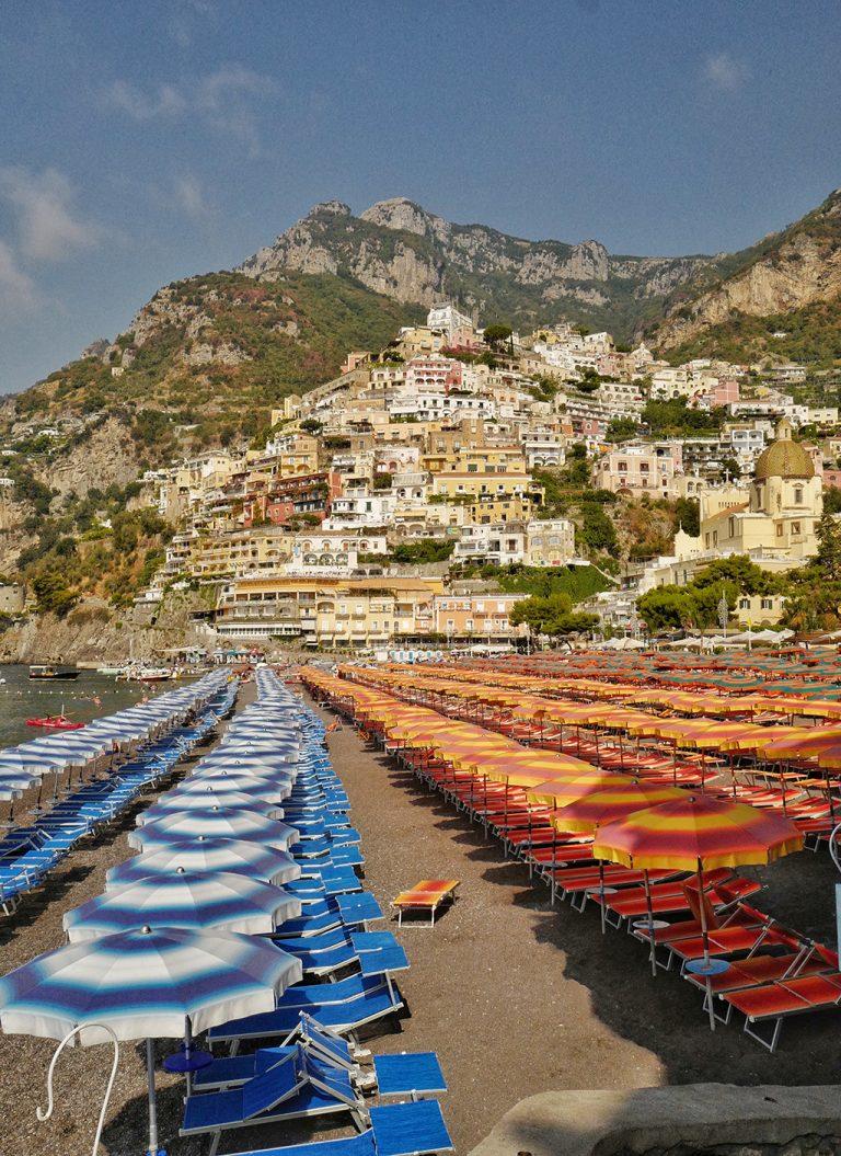 """Beach """"spiaggia grande"""" Positano, Italy"""