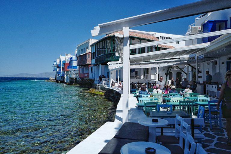 Little Venice Grèce Mykonos