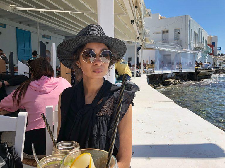 Portrait at Little Venice Mykonos