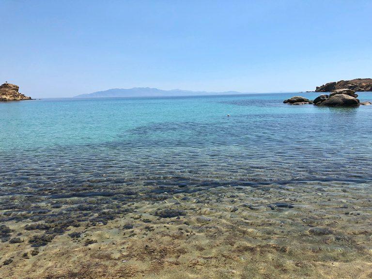 Plage de Paranga Mykonos Grèce