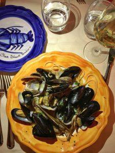 Restaurant Chez Black Positano, Italy