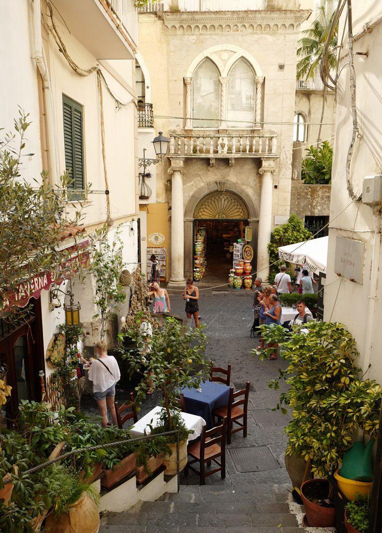 Ruelles d'Amalfi, Campanie, Italie
