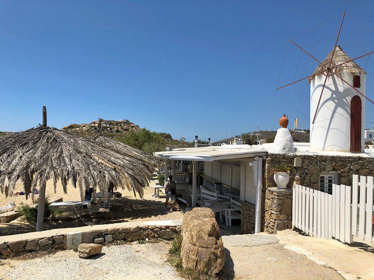 Tassos Taverna Mykonos Grèce