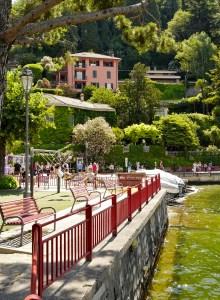 Varenna aire de jeux Lombardie