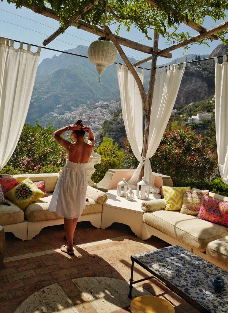 Villa TreVille hotel Positano, Italy