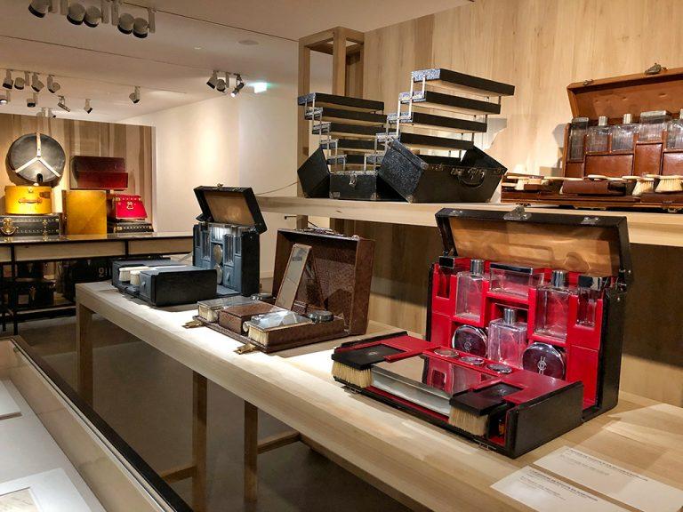 Malles pour accessoires Louis Vuitton