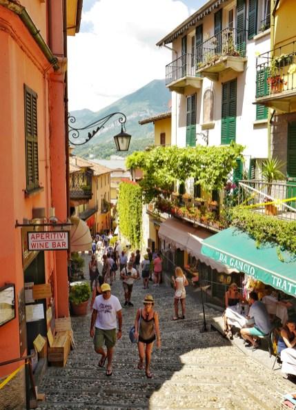 Ruelle principale Bellagio Lombardie