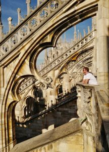 Pinnacles of Duomo Milan