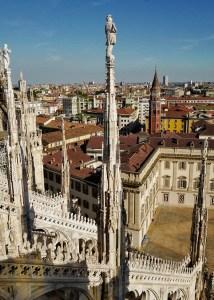 Vue sur le musée du Duomo