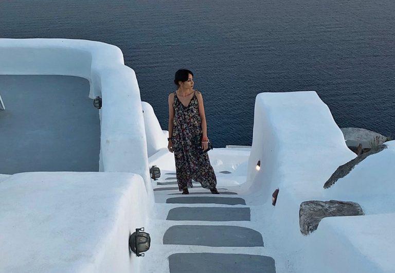 Portrait Oia, Thira Grèce