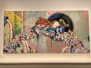 The voices of Angel and Devil of Takashi Murakami
