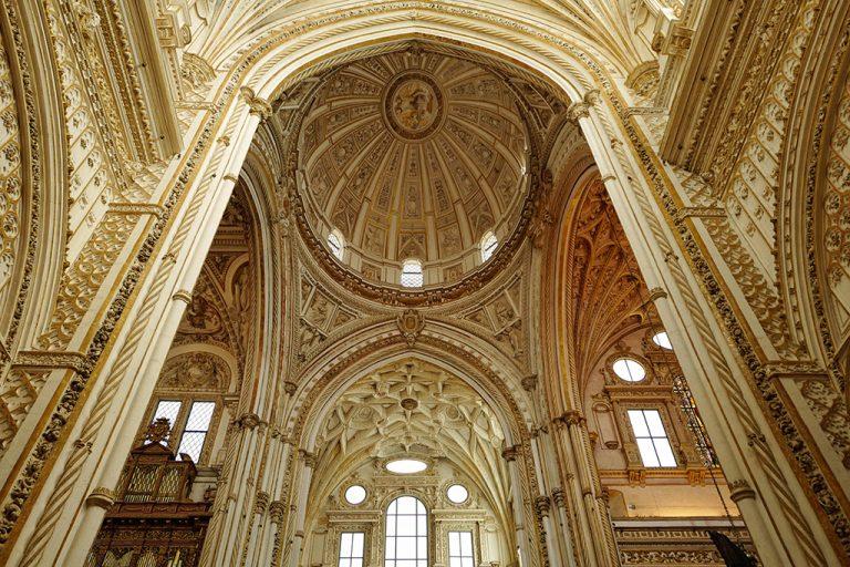 Dome cathedral Cordoba