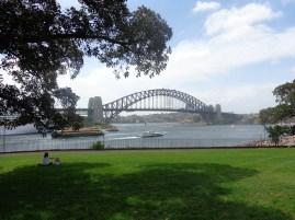 Darling Harbour depuis le jardin botanique