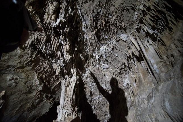 Lewis & Clark Caverns Shadow