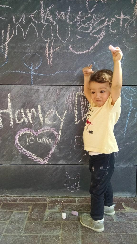 Charlottesville Mall Chalkboard