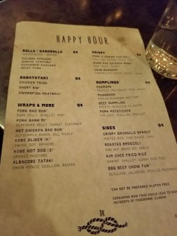 Epic happy hour at Double Knot