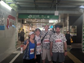 Team808 at Gotanda Station