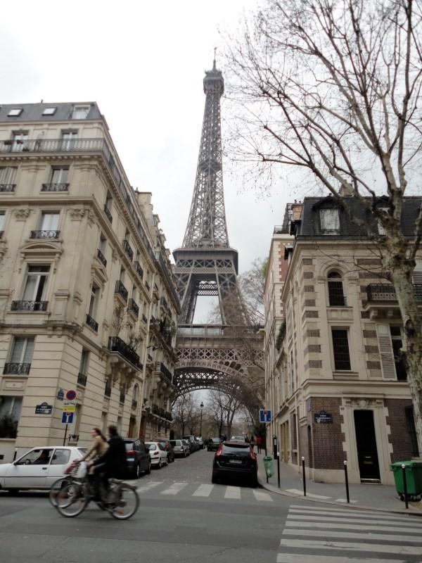 Paris Eiffel Tower Street View