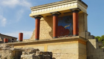 Knossos – remains of a palace
