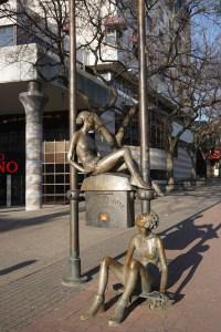 Sculptures in Bratislava