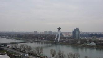 A UFO over Bratislava